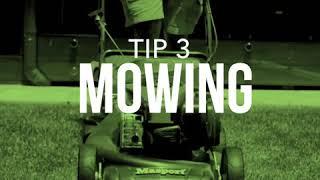 Lush lawn tip 3: mowing